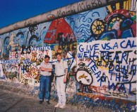 The Berlin Wall 1989